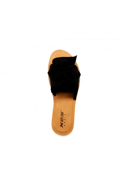 XES Ladies BSLCBS04 Comfort Slippers (Black, Brown)
