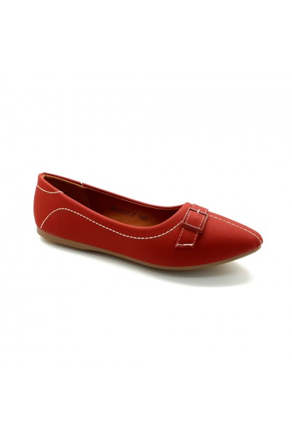 XES Ladies BSLCES17 Classic Flats (Black, Taupe, Maroon)