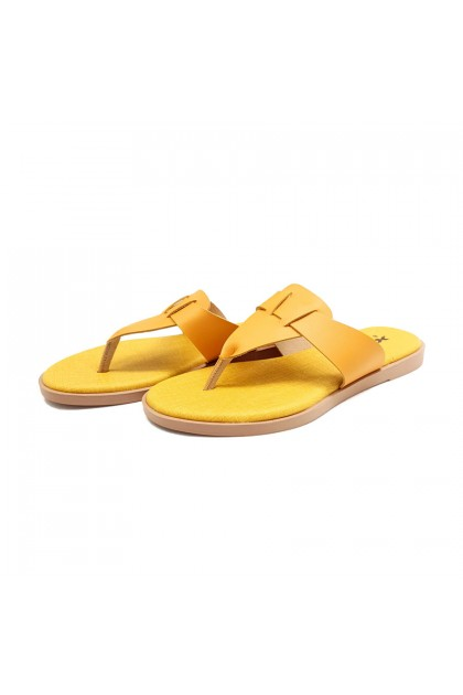 XES Ladies BSLM60640 Casual Sandals (Yellow, Blue, Pink)
