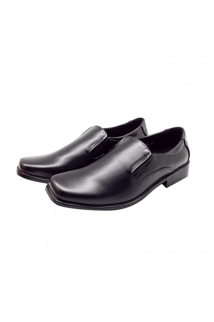 XES Men BSMCXH03 Formal Work Shoes (Black)