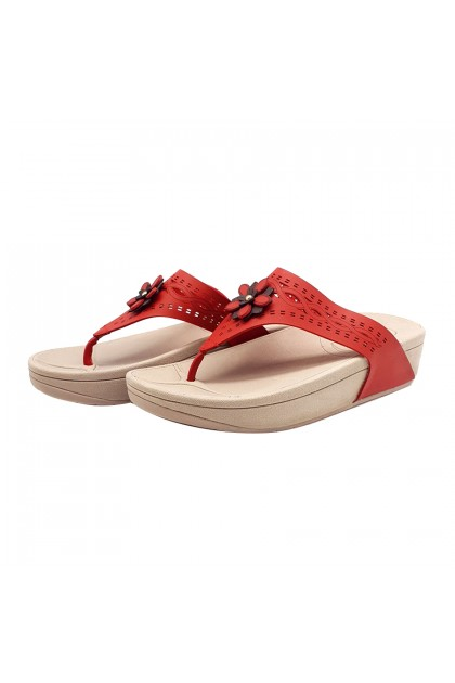 XES Ladies LM60622 Casual Wedges (Camel, Navy, Pewter, Maroon)