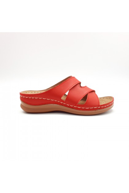 XES Ladies LCKL4701 Sandals (Red)