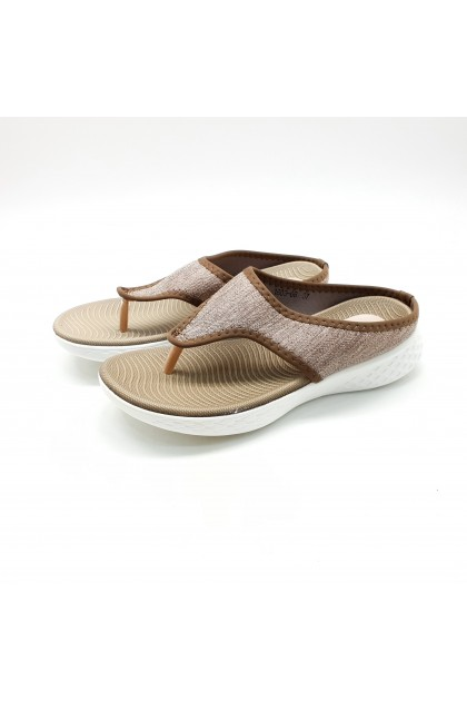 XES Ladies 1803-66 Casual Sandals (Almond/Pink/Blue)