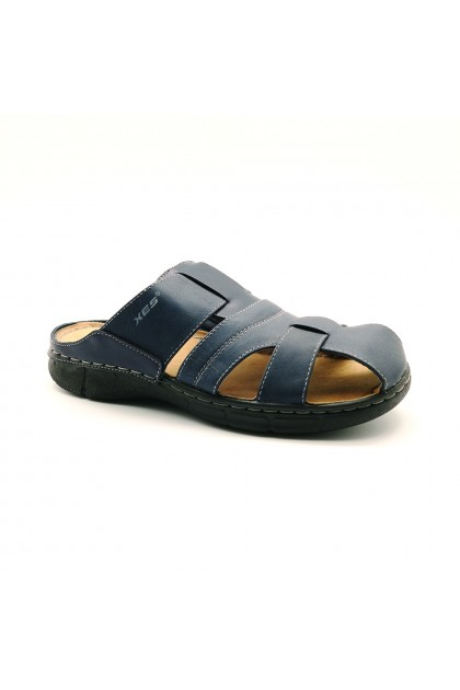 XES Men MCQL311 Casual Sandals (Coffee, Navy)