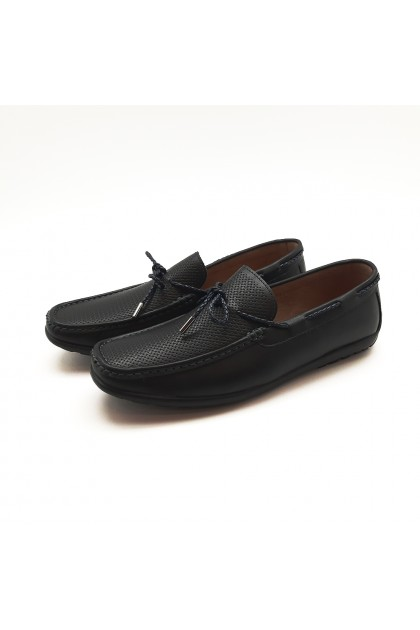 XES Men MCGL1140 Casual Loafers (Brown, Navy)