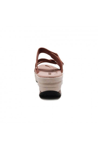 XES Ladies LM30385 Casual Sandals (Navy, Pink)