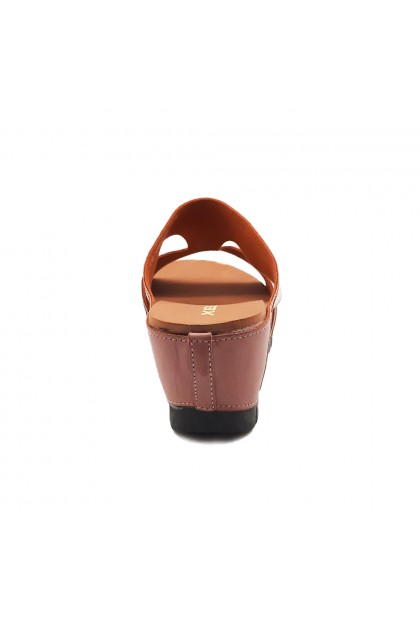 XES Ladies LM30387 Casual Sandals (Pink, Navy)