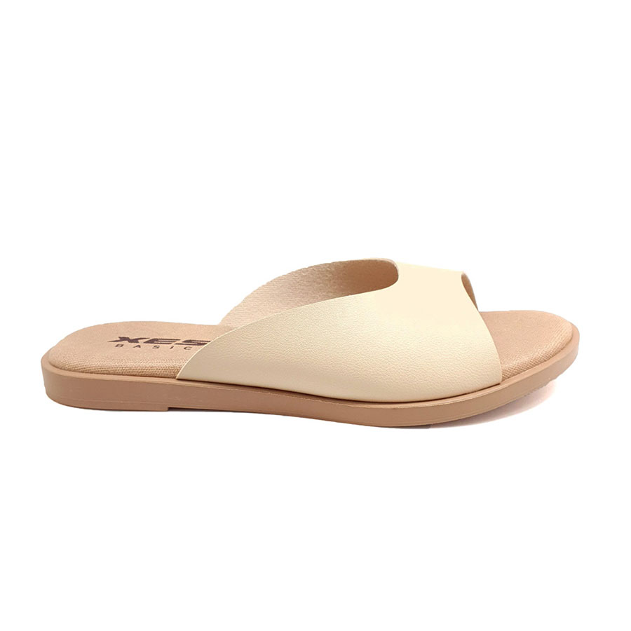 XES Ladies BSLM60664 Casual Sandals (Beige, Black, Pink)
